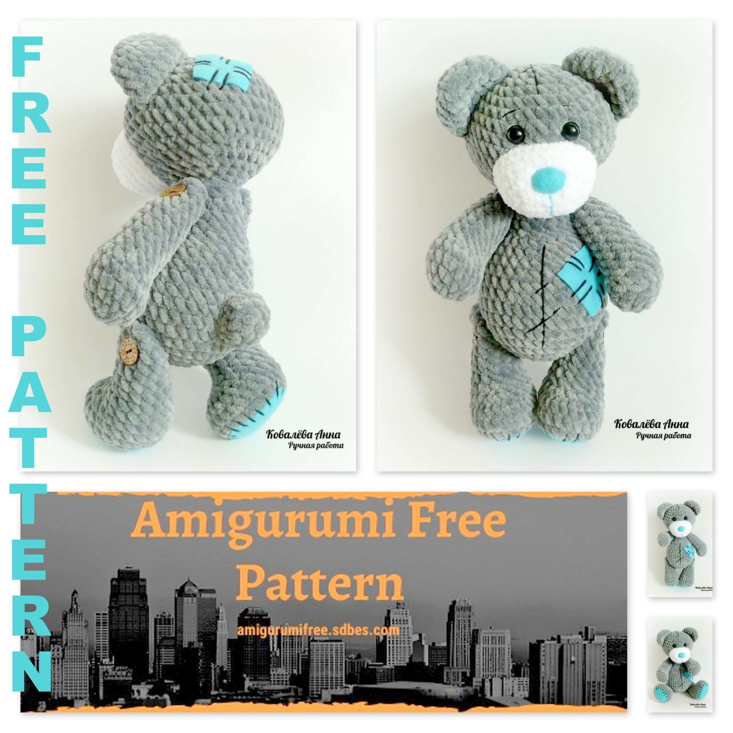 1000's of Free Amigurumi and Toy Crochet Patterns (535 free ... | 2560x2560