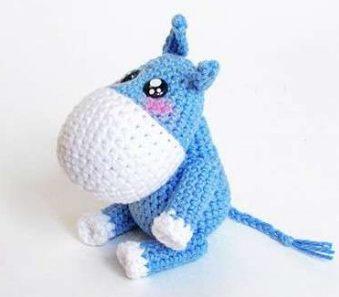 30 Piece Free Amigurumi Donkey Recipe ~ Amigurumi #amigurumi ... | 297x339